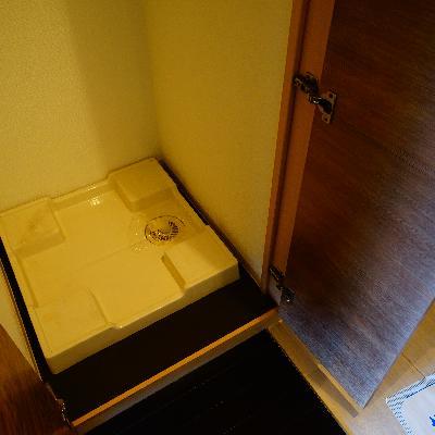 洗濯機は隠せます♪※写真は同じ間取りの別部屋です