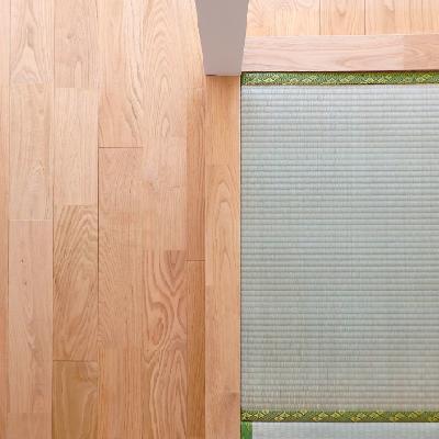 畳✕無垢。なかなか良いです