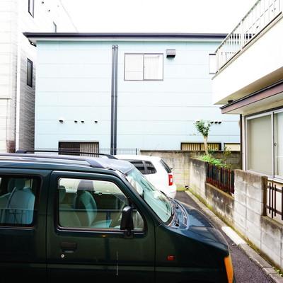 駐車場が目の前です。建物がない分、1階でもひかりは入ります