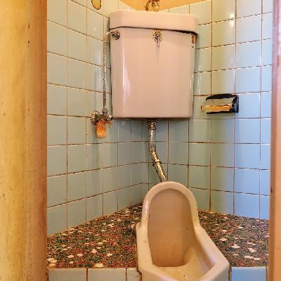 トイレだって昭和な懐かしさ。※写真は現状
