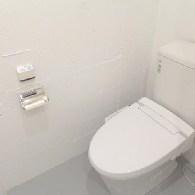 清潔感溢れるトイレ!