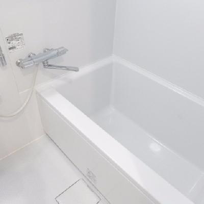 ゆったりめの浴槽!