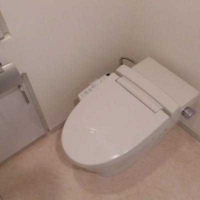 トイレは若干オープンな感じ