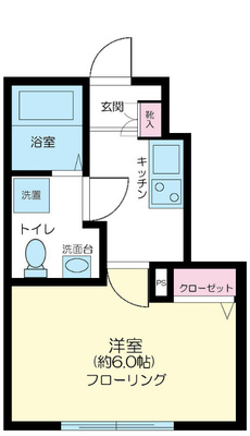 ROW HOUSE 江古田 の間取り