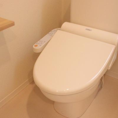 トイレの設備もステキです