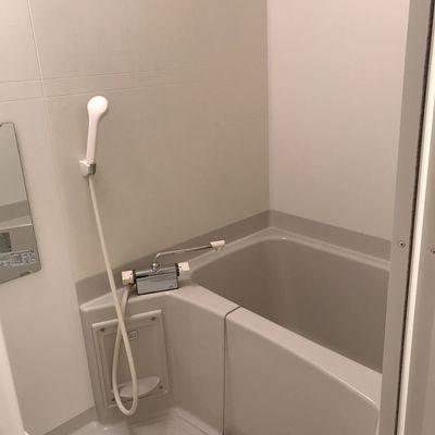 お風呂は…ふつうですね