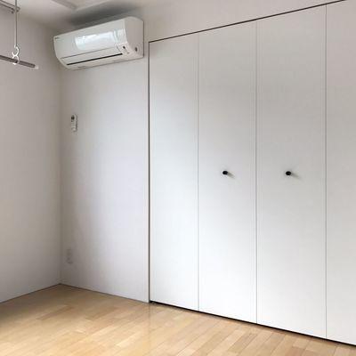 意外に白い落ち着くお部屋