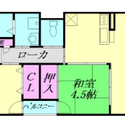 各フロアに2部屋で全室角部屋。