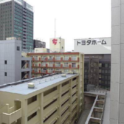 周りに高層の建物多いですが圧迫感はありません。※写真は別部屋