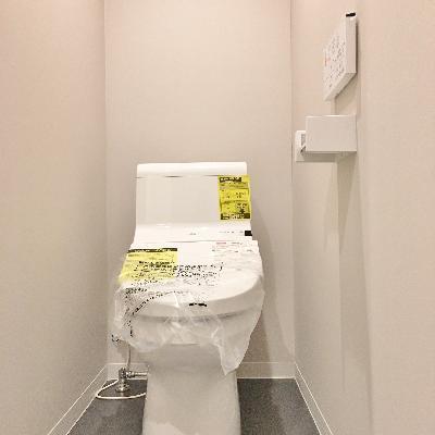 トイレは脱衣所スペースにあります。