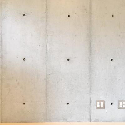 コンクリ壁もかっこいい。