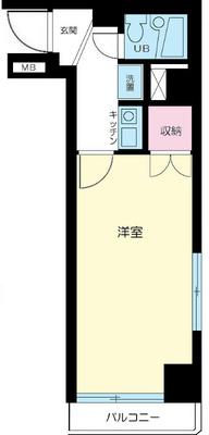 東日本橋フラワーハイホーム の間取り