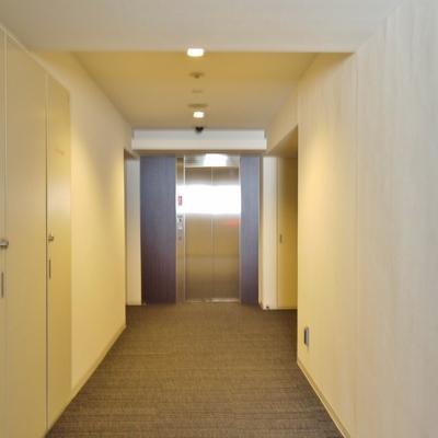 廊下もホテルにきているみたい。