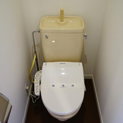 トイレはウォシュレット付きに!