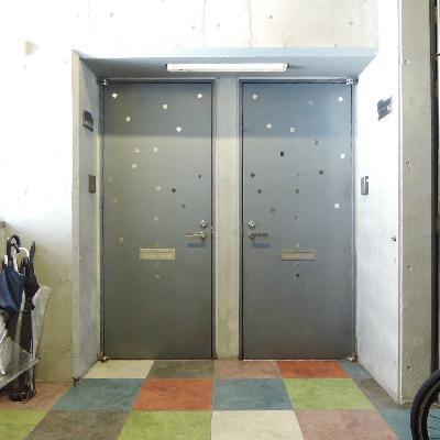 ドアも可愛らしいですね。