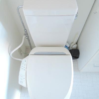 きれいなトイレ。