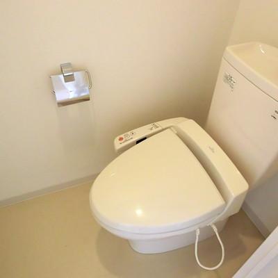 トイレはノーマル。