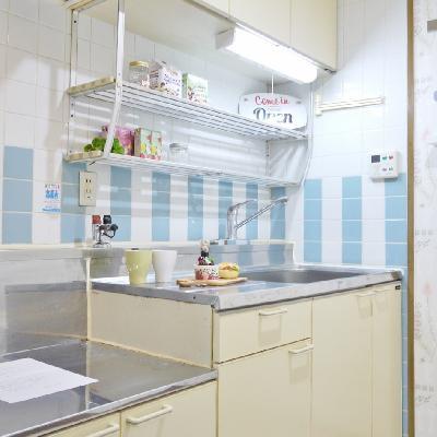 キッチンは設置型でした。