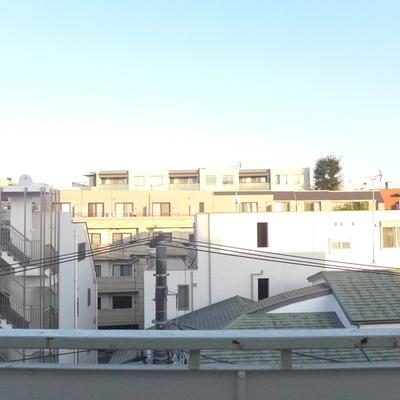 5階の眺望です