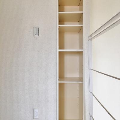 収納その3?こちらも階段を上がったところのお部屋です。