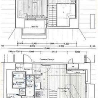 14階の最上階だけどメゾネット。
