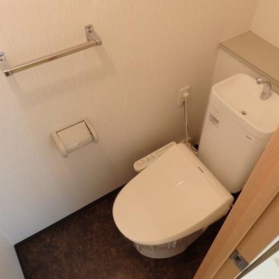 トイレきれいでした