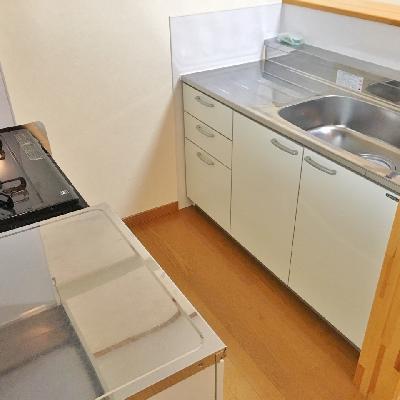 調理スペースがかなり広いです!