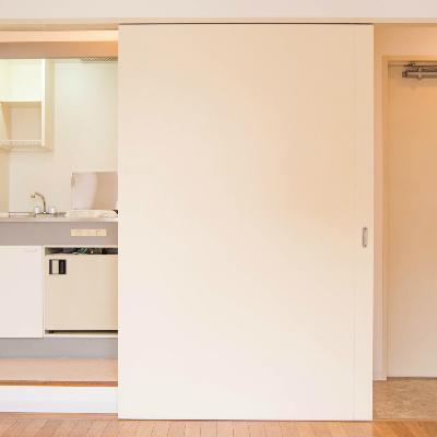 キッチンは玄関の横に