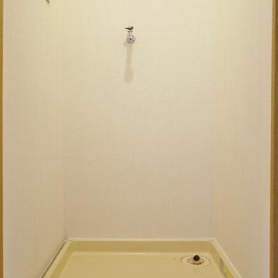 洗濯機置き場が脱衣所になります!