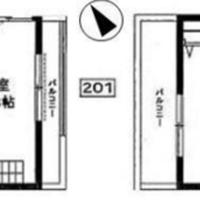 5.8の洋室+5.0のロフト
