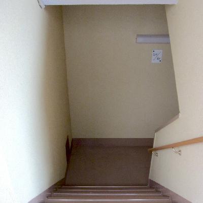 階段頑張りましょう!
