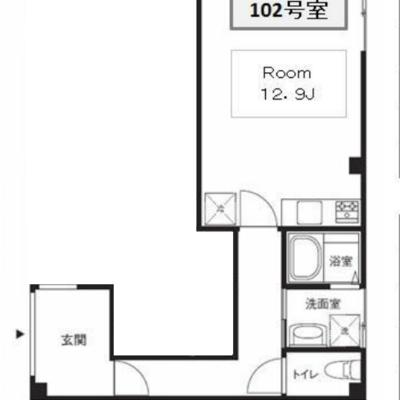 廊下とお部屋、かなり広いです