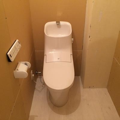使いやすそうなトイレ