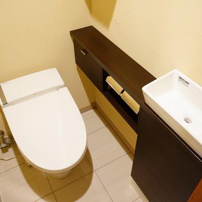 トイレにも専用洗面台が!