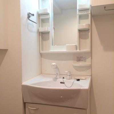 使い勝手便利な独立洗面台
