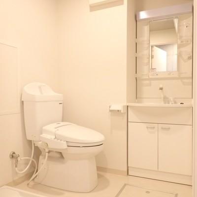 洗濯機置き場もあるんです!