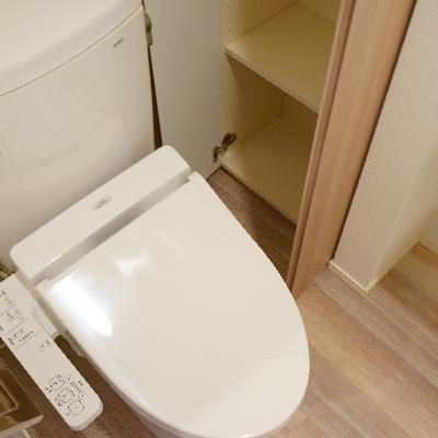 トイレはウォシュレット付き!
