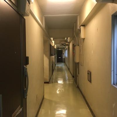 廊下。ヴィンテージ感!