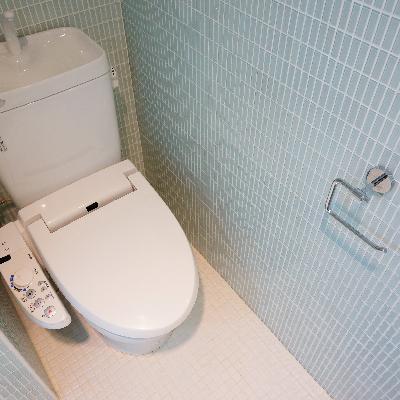トイレはウォシュレット付!