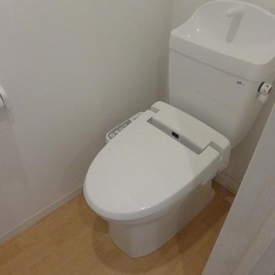 トイレはもちろん個室です
