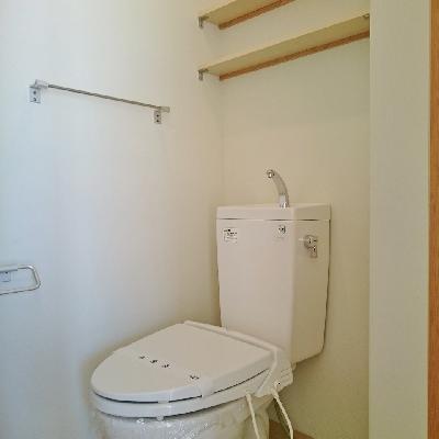 トイレはちゃんと孤立してます!