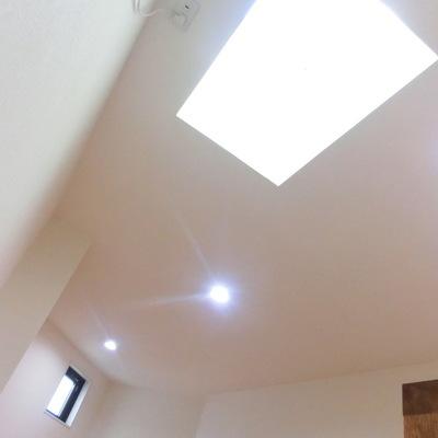 ロフトの天井♪開放感!