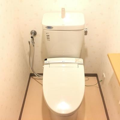 トイレも綺麗になってますね!