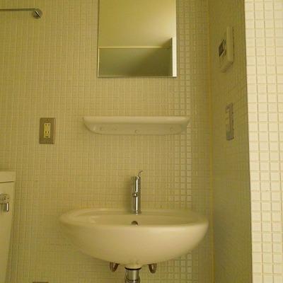シンプルな洗面※写真同タイプ別部屋