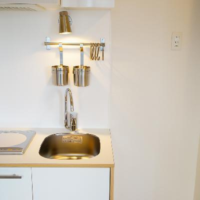 コンパクトサイズのキッチンです。(写真はイメージです)
