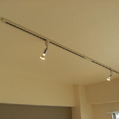 天井にはライティングレールも!(写真はイメージです)