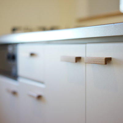 キッチンの建具も可愛いですよ♪