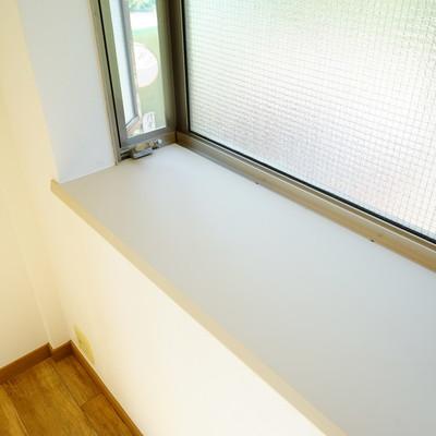 出窓がゆったりサイズ!