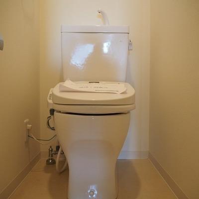 トイレです。※写真は別部屋です