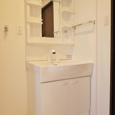 洗面の使い勝手はgood。